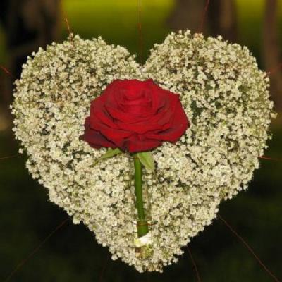 wieniec pogrzebowy 11 w ksztalcie serca