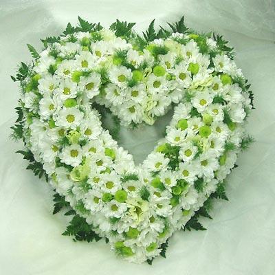 wieniec pogrzebowy 20 serce